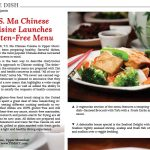 T.S Ma Chinese Cuisine Launches GlutenFree Menu