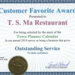 Montclair Town Planner – Outstanding Service