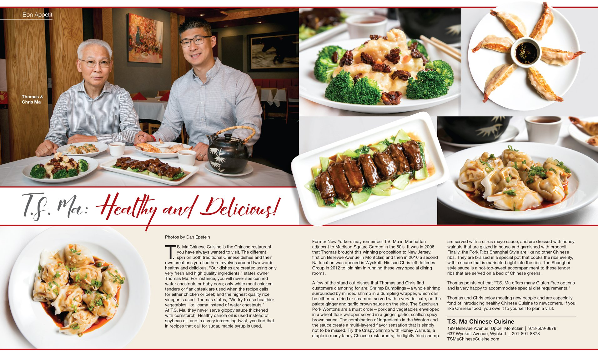 TS Ma Featured in the November 2019 Issue of Suburban Essex Magazine!
